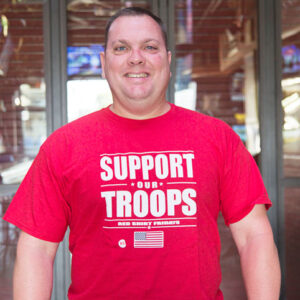 Red Murphy's Support Our Troops