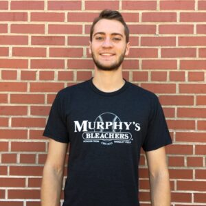 black, cotton authentic Murphy's t-shirt