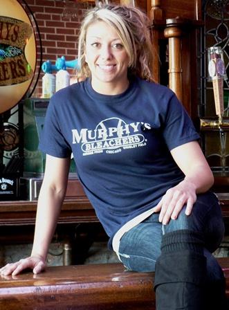8. Murphys Bleachers navy t with white logo, web ver