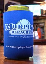 Chicago's Murphy's Bleachers beer can koozie