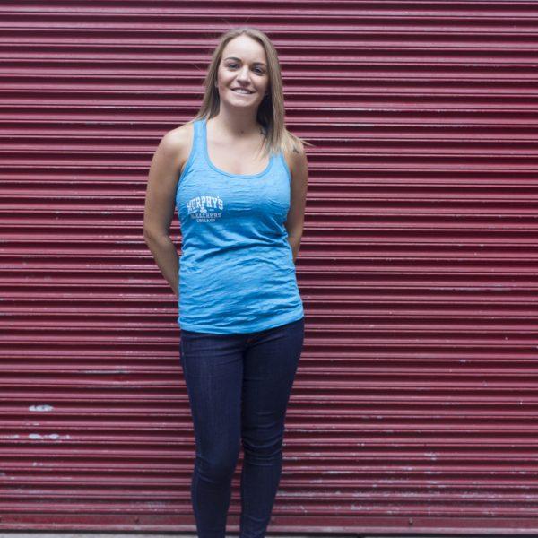 Murphy's Bleachers Blue Tank Top