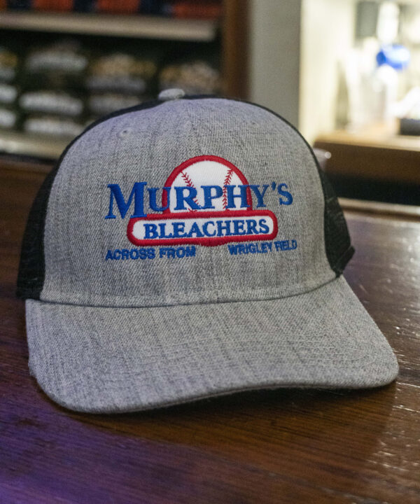 Grey Murphy's Bleachers Hat